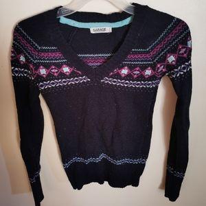 Angora blend sweater XS